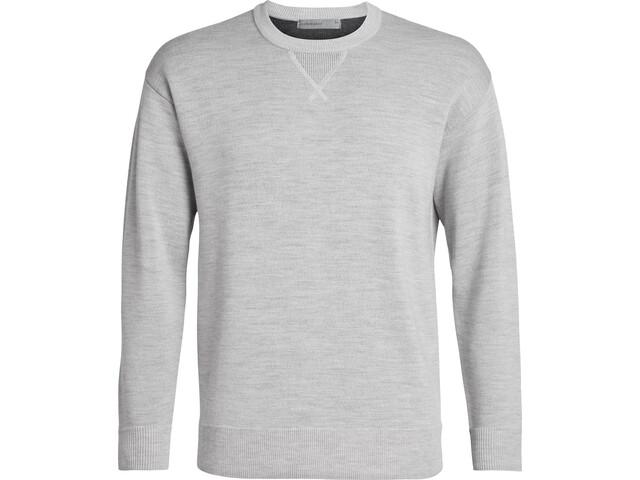 Icebreaker Carrigan Reversible Sweater Herrer, grå